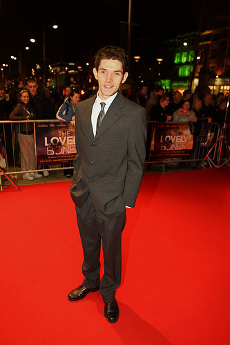 Colin morgan wolpeyper entitled 'The Lovely Bones' - Irish Premiere 2010