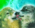 ~♥ Wolves ♥ ~ - wolves wallpaper