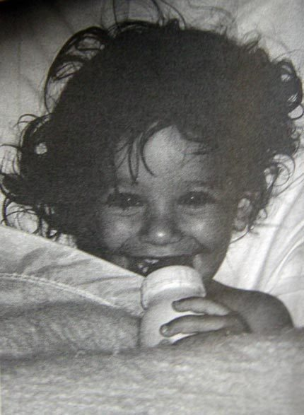A young Lea Michele!