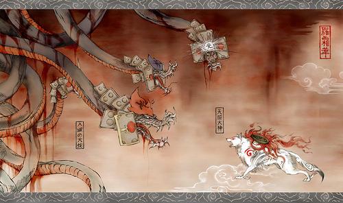 Amaterasu vs Orochi