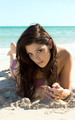 Ashley Greene Bodypaint pics for SoBe and Sports Illustrated - twilight-series photo