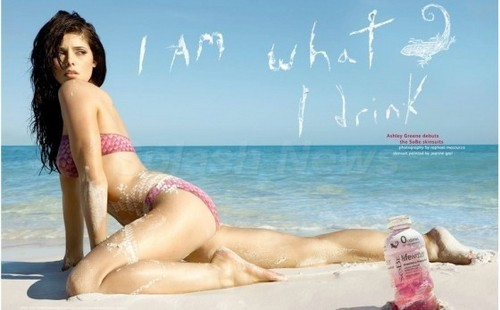 Ashley Greene's New Poster For SoBe Lifewater