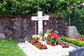Audrey's grave