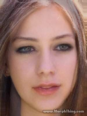 Avril Lavigne being morphed 의해 Haza Kaya........This is So kEwL!!!