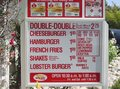 Beverly Hills In-N-Out Menu Boeard - in-n-out-burger photo