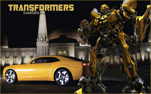 Transformers Wallpaper Titled Bumblebee