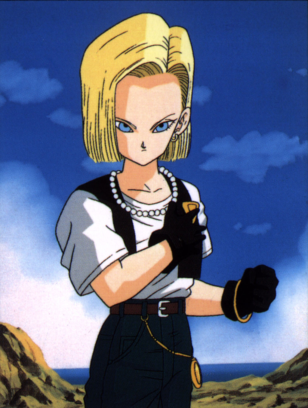 Android 18 images c 18 hd wallpaper and background photos - Dragon ball c18 ...