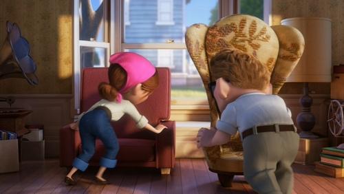 Pixar Couples wallpaper called Carl and Ellie