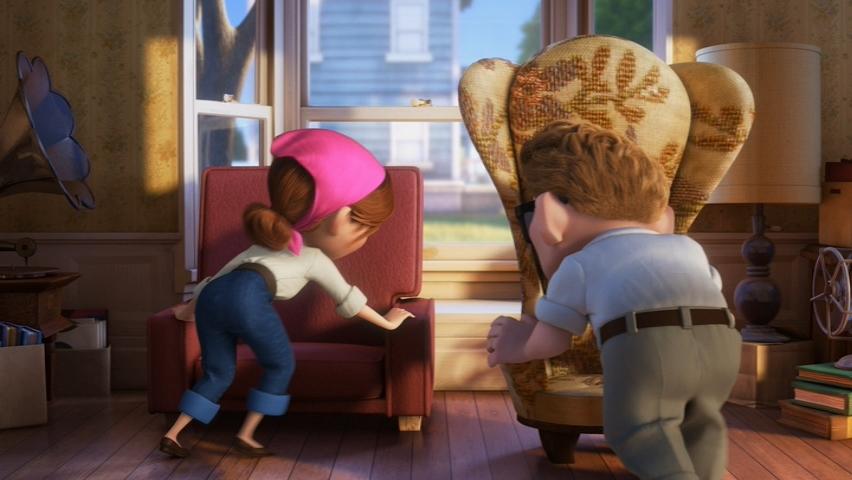 Pixar Couples Carl and Ellie