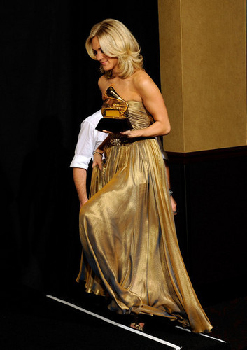 Carrie Grammys Press Room