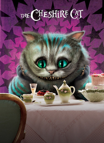 Alice in Wonderland (2010) wallpaper titled Character Posters