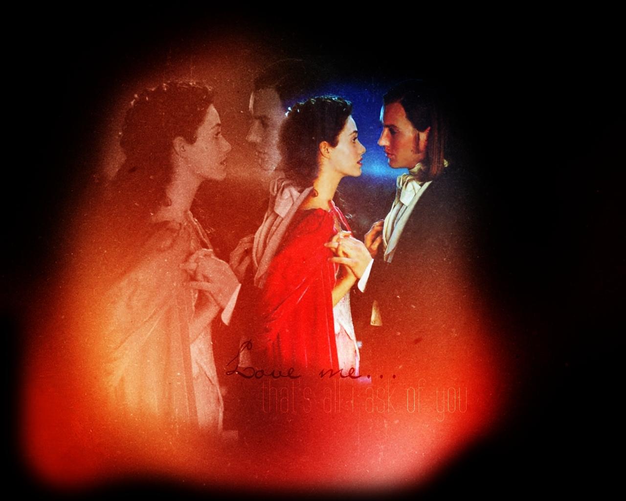 Christine x Phantom - ALWs Phantom of the Opera movie Fan