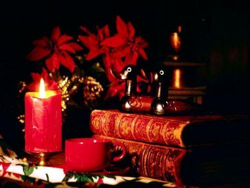 क्रिस्मस candles