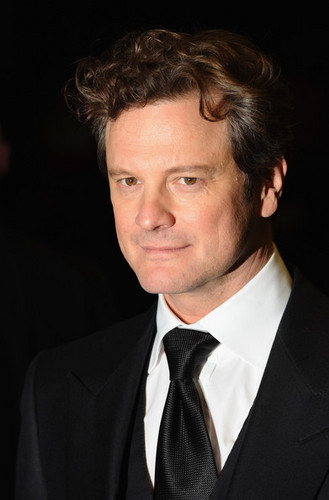 Colin Firth at the Londres Premiere of A Single Man