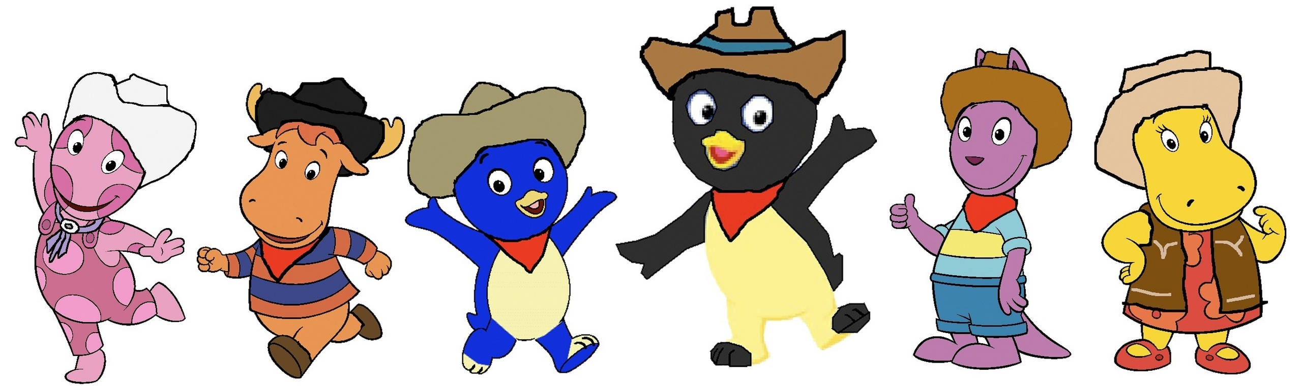 the backyardigans images cowboys and cowgirls hd wallpaper and