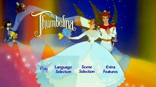 Thumbelina 바탕화면 entitled DVD menu