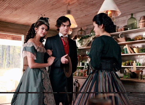 Damon & Katherine 1x13 (HQ) - damon-and-katherine Photo