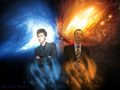 Doctor's team - doctor-who wallpaper