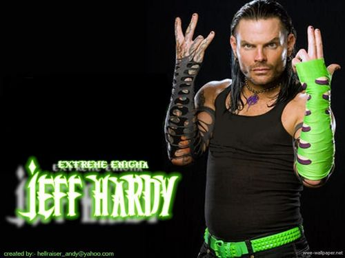 Jeff Hardy wallpaper called EXTREME EGNIGMA Jeff Hardy