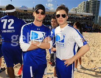 Ed at Celebrity de praia, praia Bowl