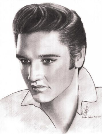 Elvis Portrait - elvis-presley Fan Art
