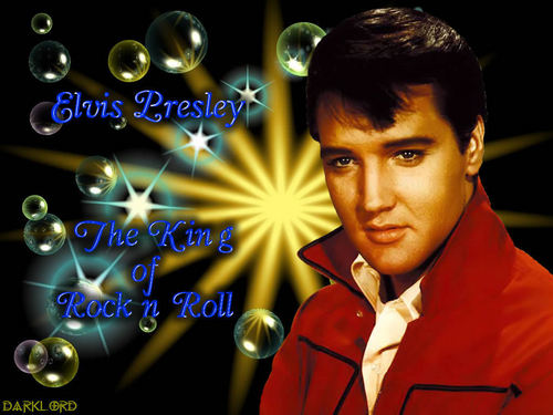 Elvis Presley wallpaper entitled Elvis,King Of Rock And Roll