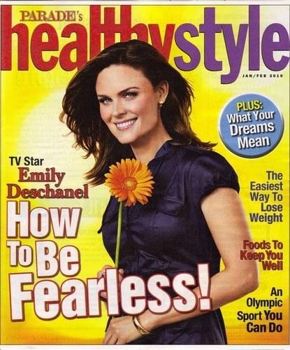 Emily in Parade Magazine
