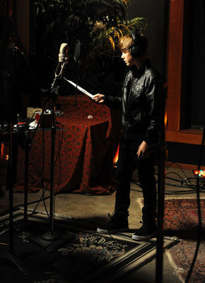 "Events > 2010 > February 1st - ""We Are  The World"" 25 Years For Haiti Recording Session - justin-bieber  photo"