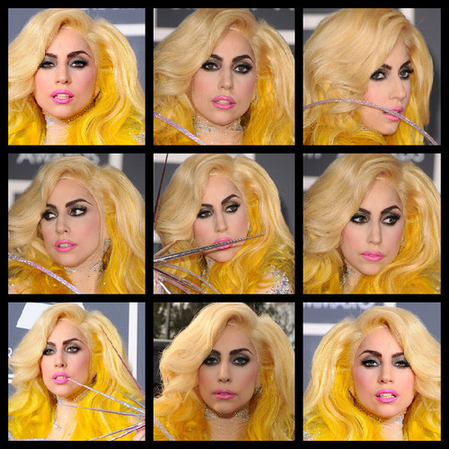 Fabulous GaGa at the 52nd Annual Grammy Awards