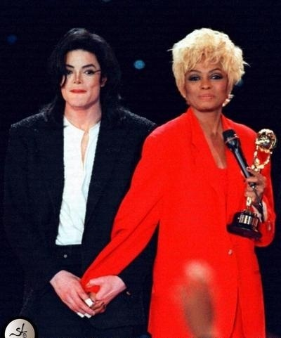 Funny!! MJ & Diana Ross