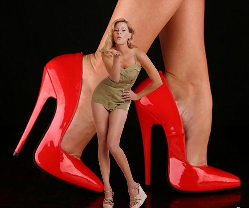 High heels ciuman