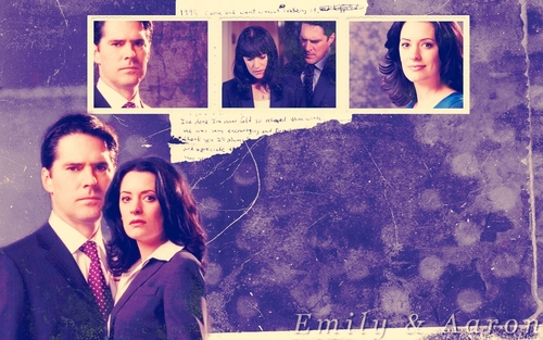 SSA Aaron Hotchner wallpaper entitled Hotch / Prentiss