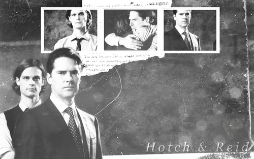 SSA Aaron Hotchner wallpaper entitled Hotch / Reid