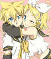 Hug - rin-and-len-kagamine photo