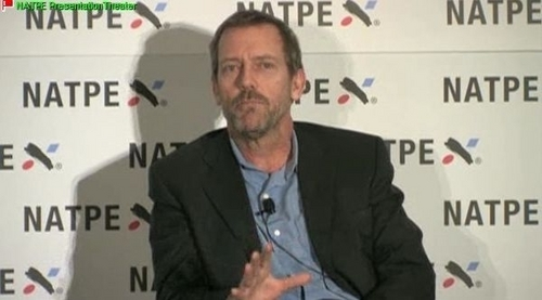 Hugh Laurie - NATPE