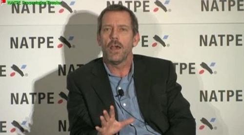 Hugh Laurie - NATPE