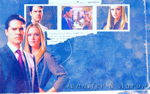 "Jennifer ""JJ"" Jareau wallpaper called JJ / Hotch"