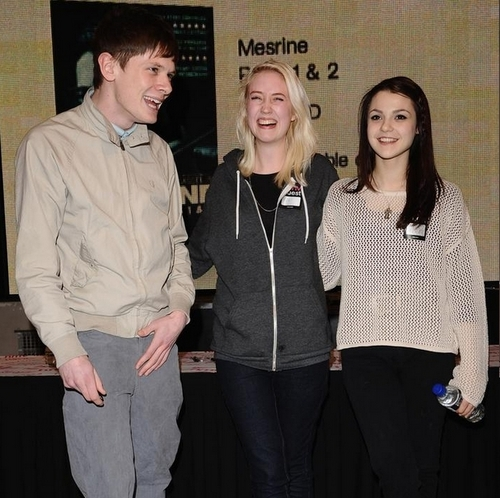 Jack & Kathryn (with Lily) at HMV Book Signing