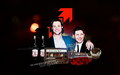 jensen-ackles - Jensen and Jared at the 100th episode party Wallpaper wallpaper