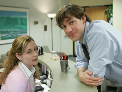 John and Jenna The Office تصویر