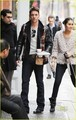 Jonathan Rhys Meyers & Reena Hammer Run On Dunkin