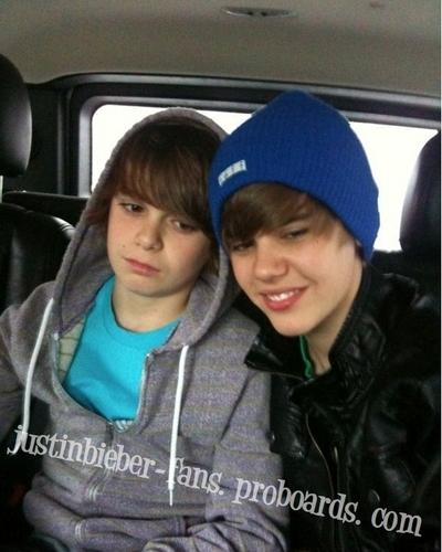 Justin Bieber & Christian Beadles