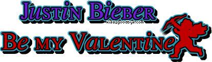 Justin Bieber Valentine تبصرے