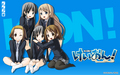 K-On Blue wallpaper