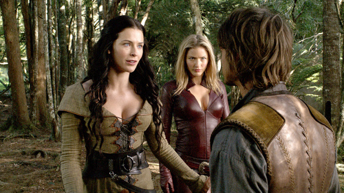 Kahlan, Cara, and Richard