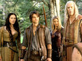 Kahlan, Richard, Cara & Zed