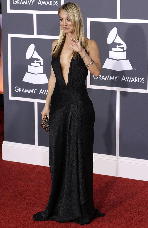 Kaley Cuoco - Grammy Awards 2010