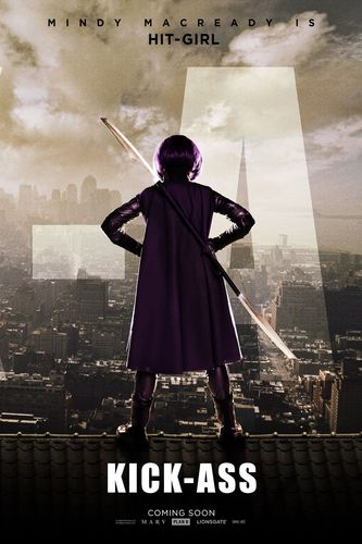 Kick-Ass 'Hit-Girl' Poster