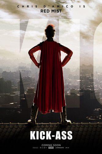 Kick-Ass 'Red Mist' Poster