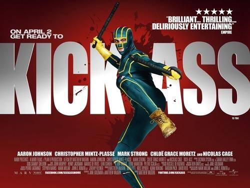 Kick-Ass UK Quad Poster